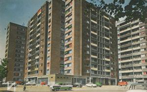 Lorilleux livrée en 4 tranches<br>de 1954 à 1965<br>1188 logements