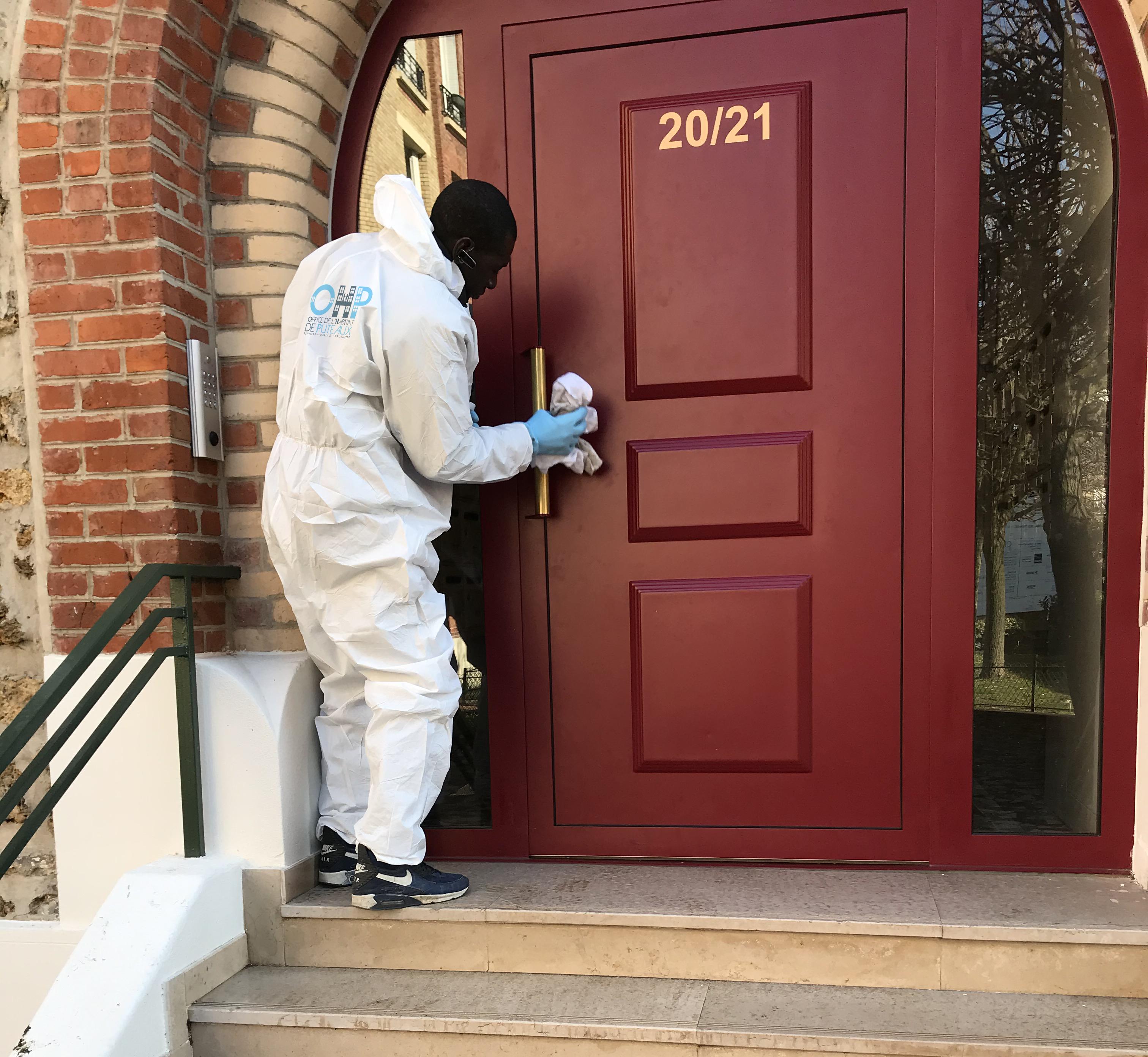 Coronavirus : Nettoyage et désinfection des résidences
